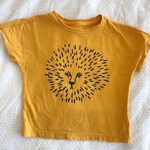 Toddler lion shirt